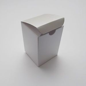 Single wall white gift box