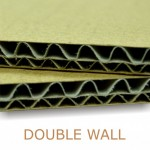 "Double Wall Brown 1000x1500mm (40""x60"") ATL2"